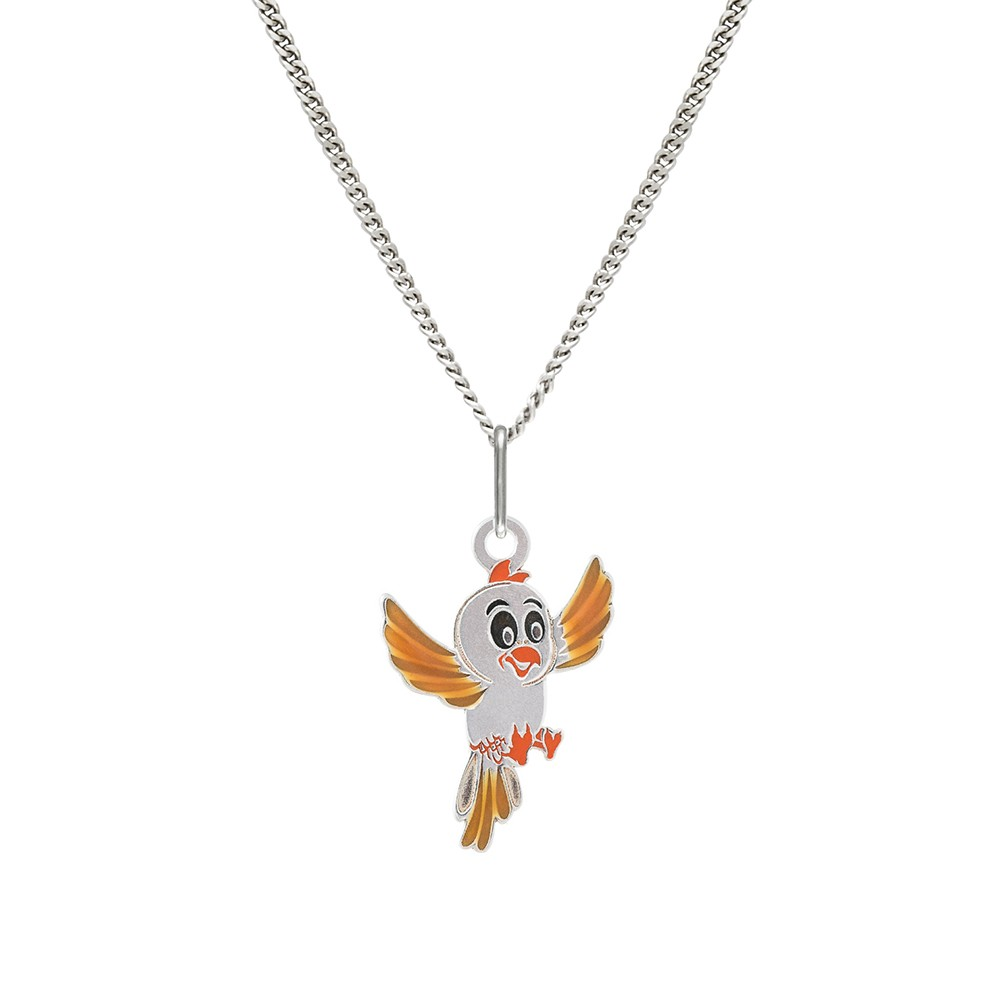 Childrens Silver Pendant with Chain KO1033_CU035_40