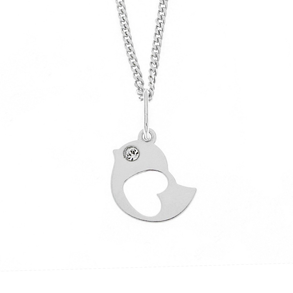Childrens Silver Pendant with Chain KO1502m_CU035_40