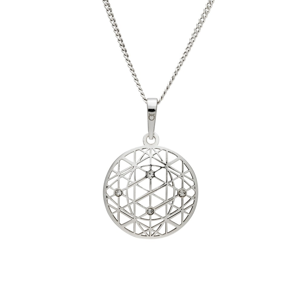 Silver Pendant with Chain KO1594_CU040_50