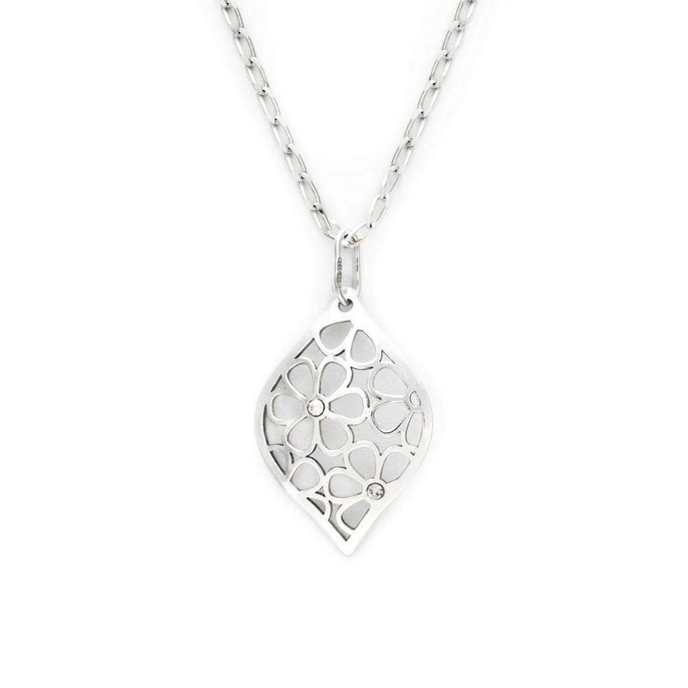 Silver Pendant with Chain KO1752_FI040_50