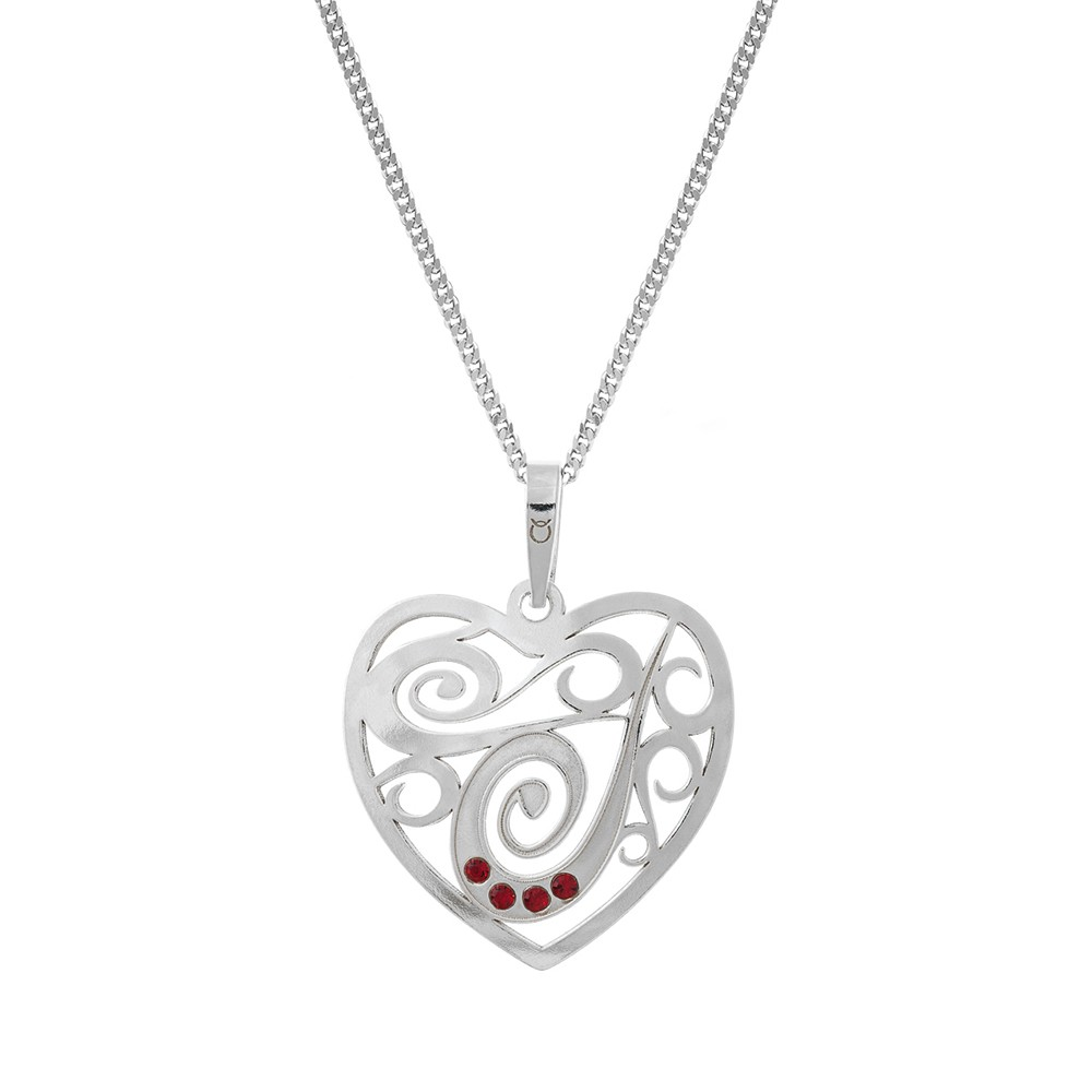 Silver Pendant with Chain KO1836_CU050_46
