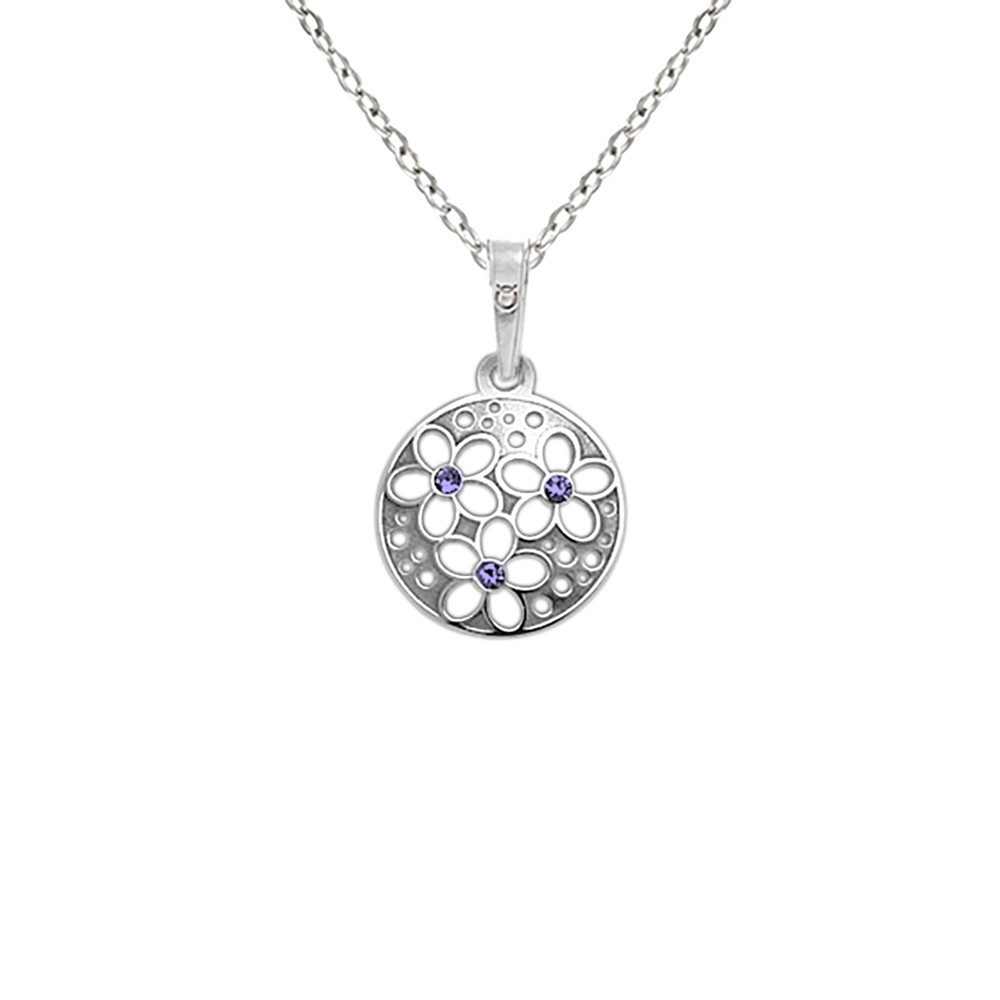Silver Pendant with Chain KO1853_BR030_45