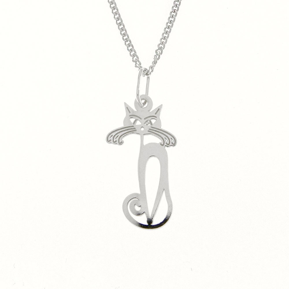 Childrens Silver Pendant with Chain KO5069_CU035_40