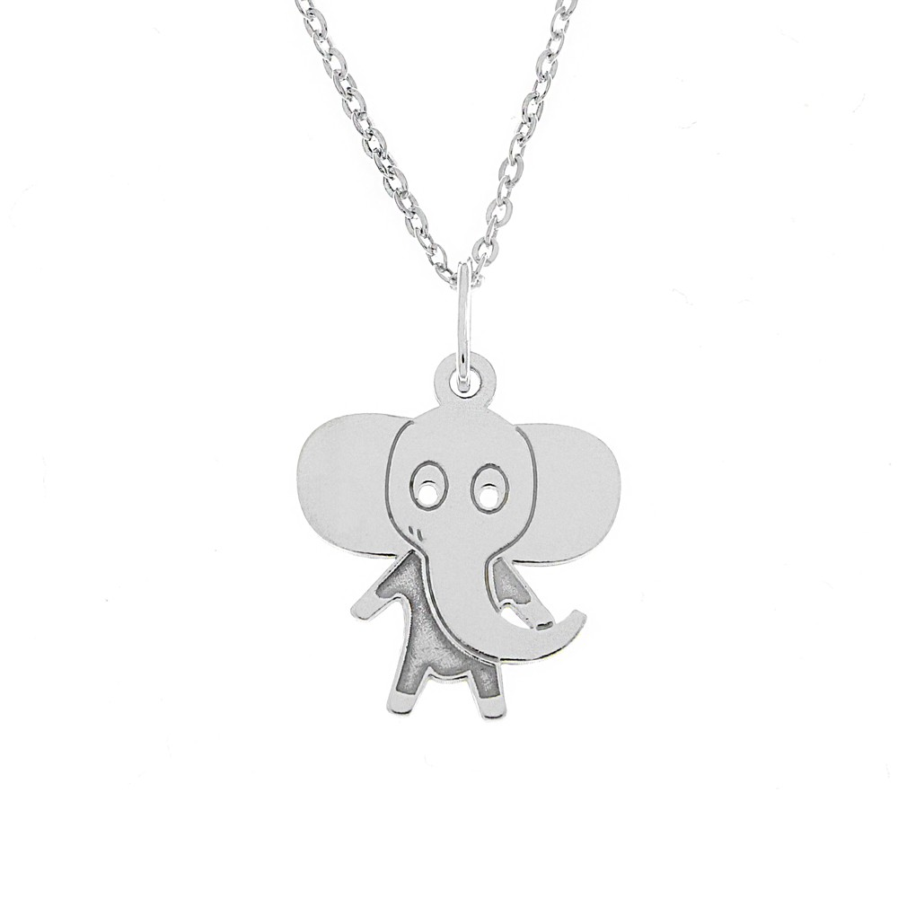 Childrens Silver Pendant with Chain KO5138_BR030_41