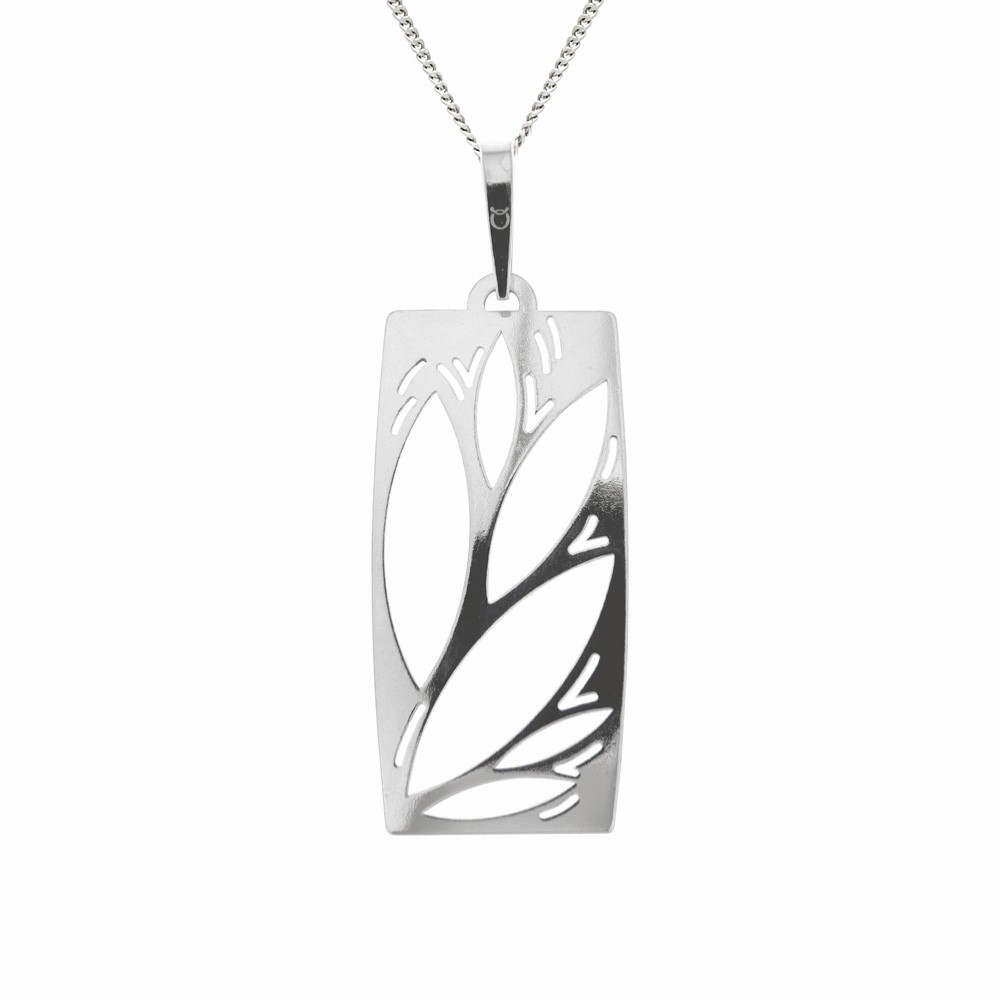 Silver Pendant with Chain Arkana