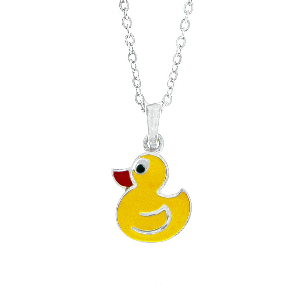 Childrens Silver Pendant with Chain KO8026_BR030_40