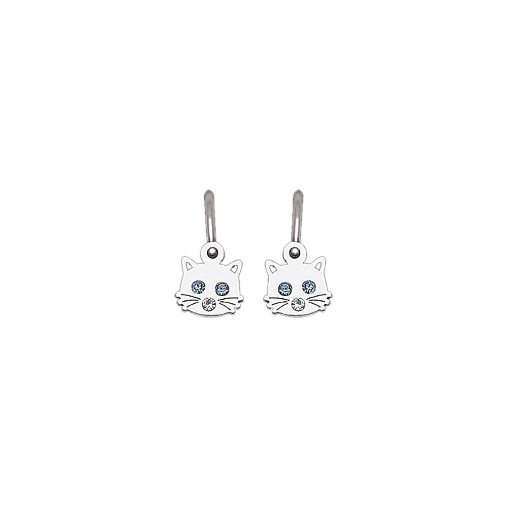 Childrens Silver Earrings NA0769