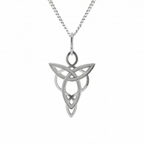 Silver Pendant with Chain Spirit