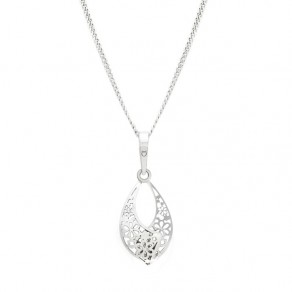 Silver Pendant with Chain KO0896_CU040_50