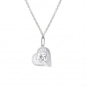 Silver Pendant with Chain KO1194m_BR030_50