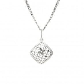 Silver Pendant with Chain KO1699_CU040_50