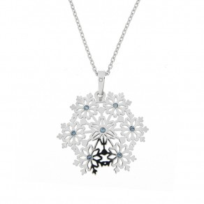 Silver Pendant with Chain KO2103_CU050_45