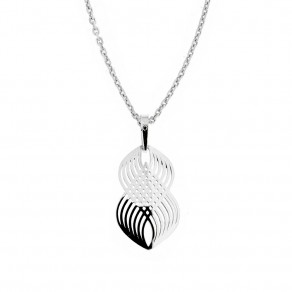 Silver Pendant with Chain KO2104_MO040_45