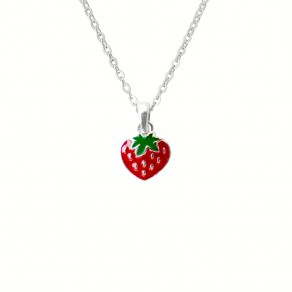 Childrens Silver Pendant with Chain KO8020_BR030_40