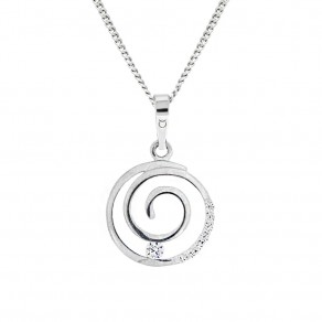 Childrens Silver Pendant with Chain KO8032_CU040_45