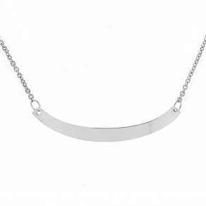 Silver Necklace Simple Beauty