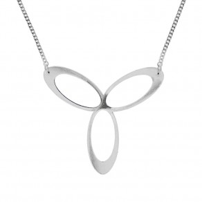 Silver Necklace Eternity