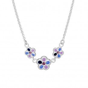 Childrens Silver Necklace N8001