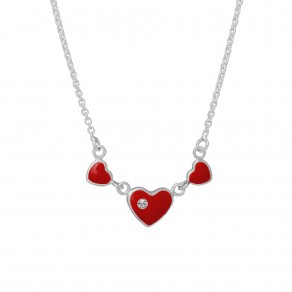 Childrens Silver Necklace N8003
