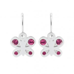 Childrens Silver Earrings NA0793