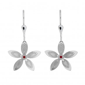 Silver Earrings Floria