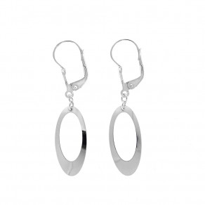 Silver Earrings Eternity
