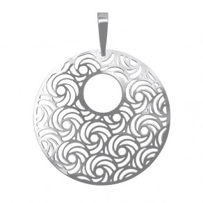 Silver Pendant PA1277m Whirling