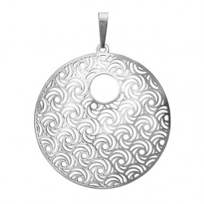 Silver Pendant PA1277v Whirling