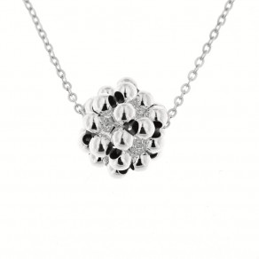 Silver Necklace Bolla
